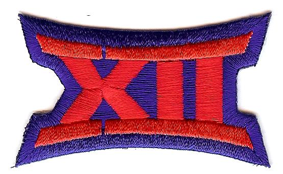 Big 12 Uniform Patch (Kansas)