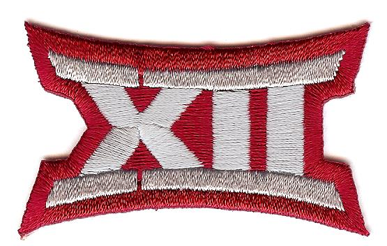 Big 12 Uniform Patch (Oklahoma)