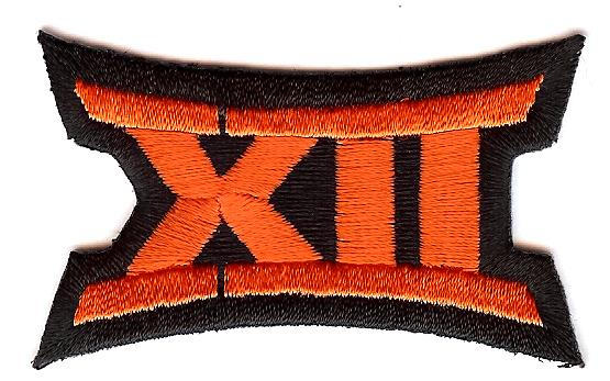 Big 12 Uniform Patch (Oklahoma State)