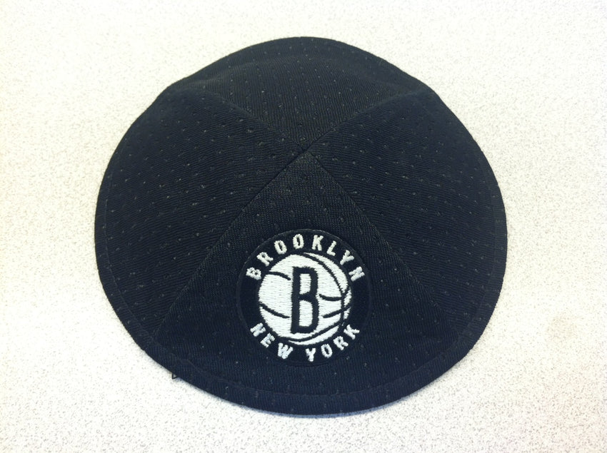 Brooklyn Nets Kippah (Secondary Logo)