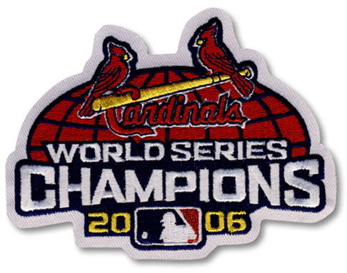 St. Louis Cardinals 2006 World Series Championship Patch