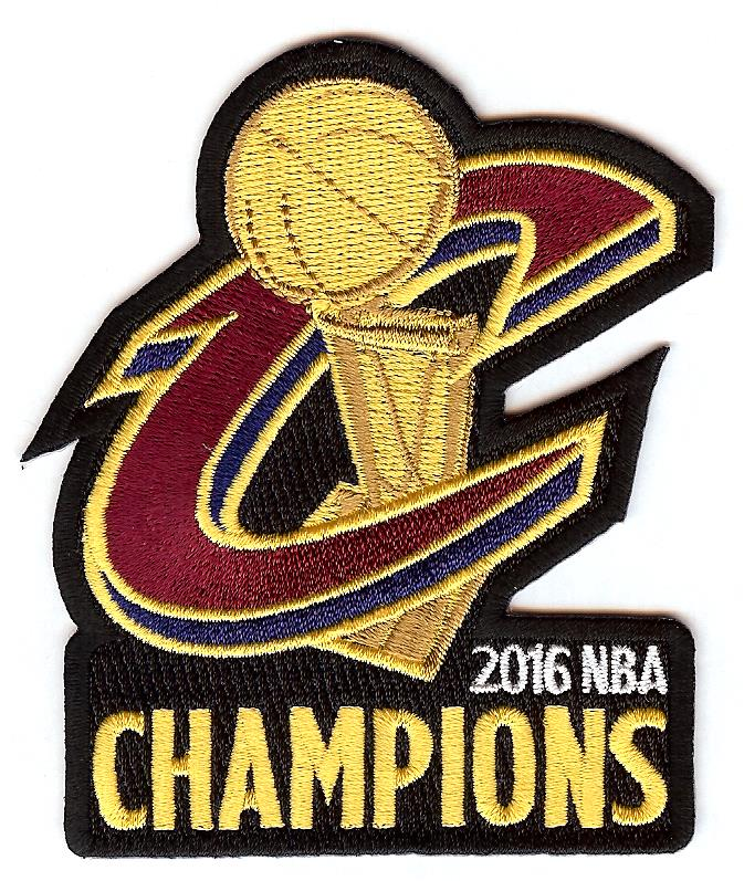 Cleveland Cavaliers 2016 NBA Champions Patch