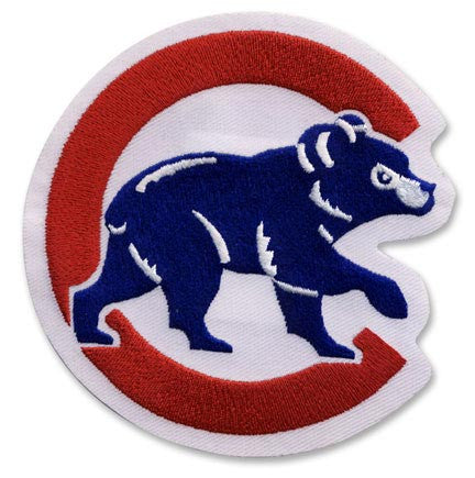 "Chicago Cubs Sleeve Logo ""Walking Bear"""
