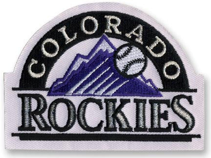 Colorado Rockies Primary Logo / Sleeve Patch