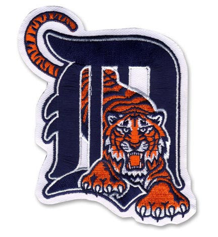 Detroit Tigers Alternate Logo Patch