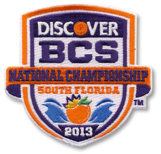 2013 Discover BCS National Championship Patch