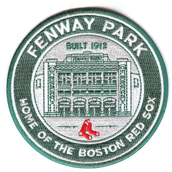 "Boston Red Sox ""Fenway Park, Home of the Boston Red Sox"" Patch"