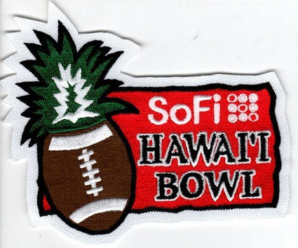 SoFi Hawaii Bowl Game Patch