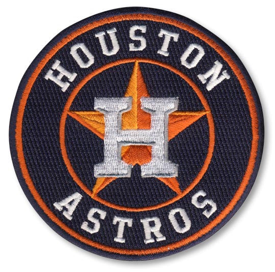 Houston Astros Primary Logo / Road Sleeve Patch