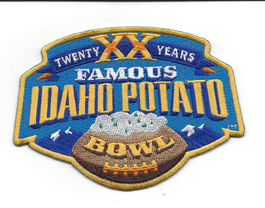 Famous Idaho Potato 20th Anniversary Patch (2016)