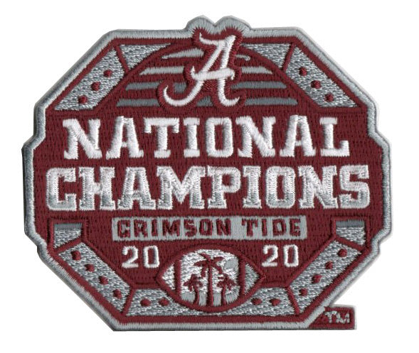 University of Alabama 2020 National Champions Collector Patch