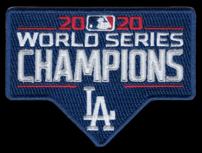 Los Angeles Dodgers 2020 World Series Champions Collector Patch