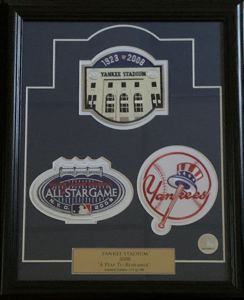 2008 A Year to Remember New York Yankees Framed Piece