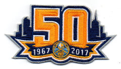 Denver Nuggets 50th Anniversary Patch