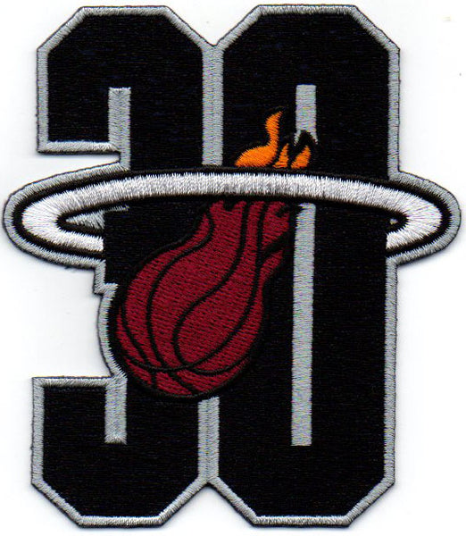 Miami Heat 30th Anniversary Patch