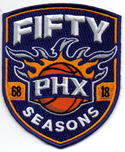 Phoenix Suns 50th Anniversary Patch