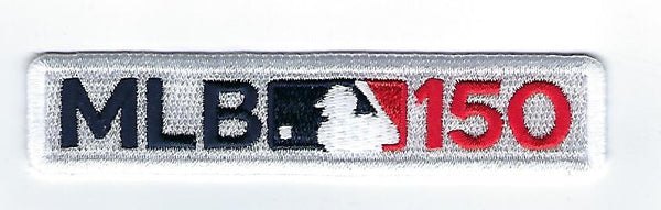 Major League Baseball 150th Anniversary Patch