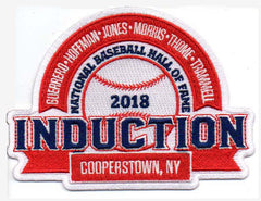 2018 National Baseball Hall of Fame Induction Patch