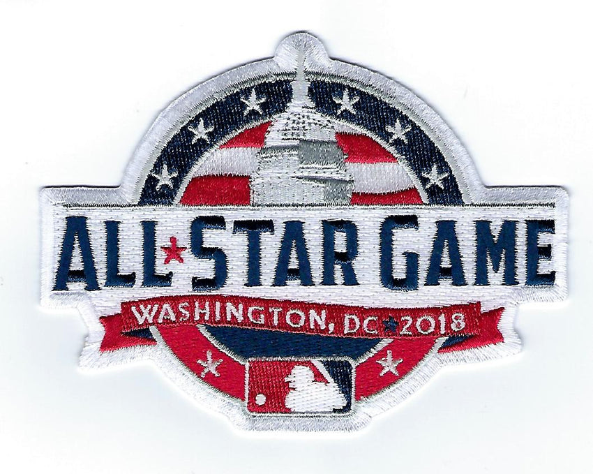 2018 Major League Baseball All Star Game Patch (Washington D.C.)