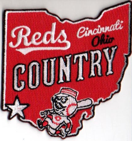 "Cincinnati Reds FanPatch ""Country"""