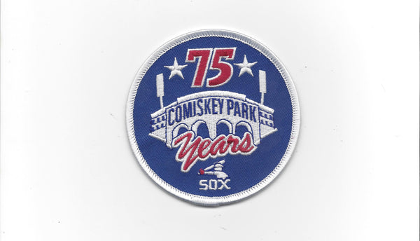 Chicago White Sox 75 Years Comiskey Park Anniversary Patch