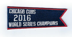 "Chicago Cubs 2016 World Series Champions ""Banner"" FanPatch"