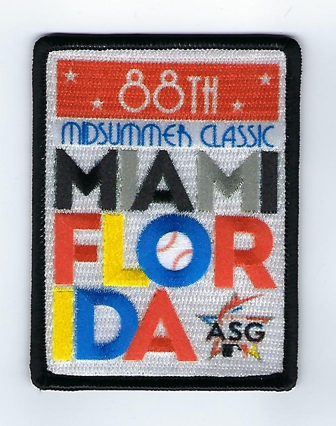 2017 Miami Marlins All Star Game FanPatch