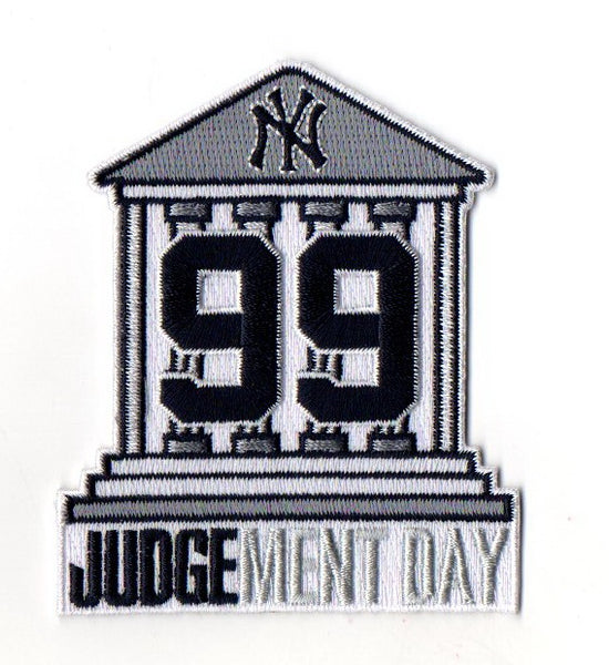 "Aaron Judge #99 ""Courthouse"" FanPatch"
