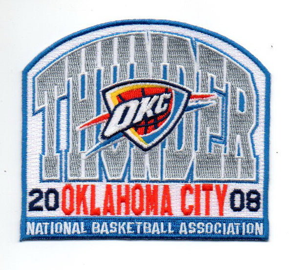 "Oklahoma City Thunder FanPatch ""The Wall"""