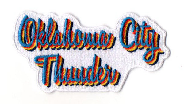 "Oklahoma City Thunder FanPatch ""Retro Daze"""
