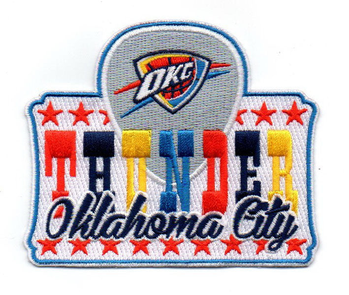 "Oklahoma City Thunder FanPatch ""Country"""