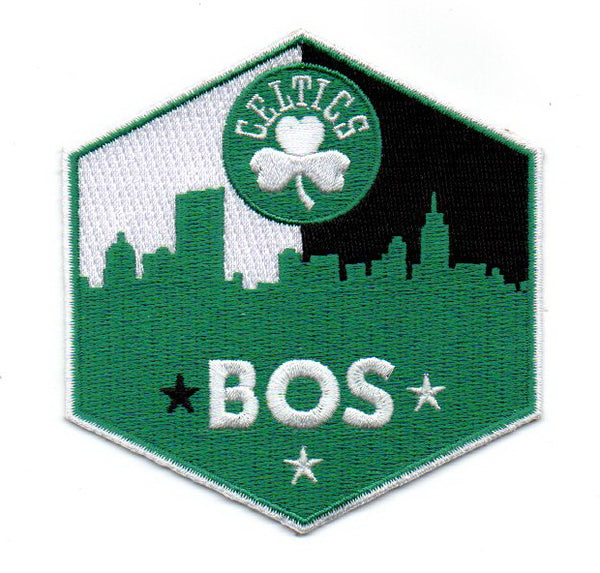 "Boston Celtics ""BOS"" FanPatch"