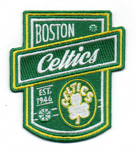 "Boston Celtics ""Est. 1946"" FanPatch"