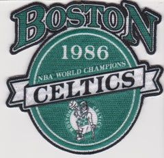 Boston Celtics 1986 World Champions FanPatch