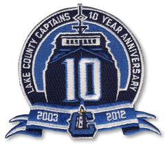 Lake County Captains 10 Year Anniversary 2003-2012
