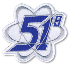 Las Vegas 51s Orbitron Patch