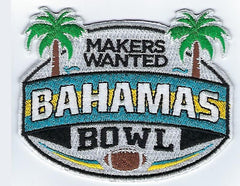 Makers Wanted Bahamas Bowl Game Patch