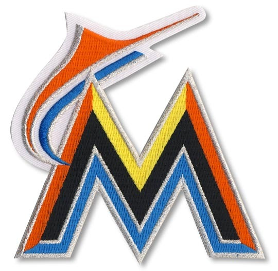 Miami Marlins Primary Logo / Home Sleeve Patch