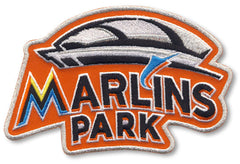 Miami Marlins Park Orange Sleeve Patch (2012 Home)