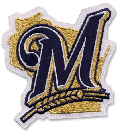 Milwaukee Brewers Home Sleeve Patch