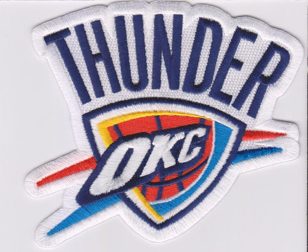 Oklahoma City Thunder Primary Logo Patch