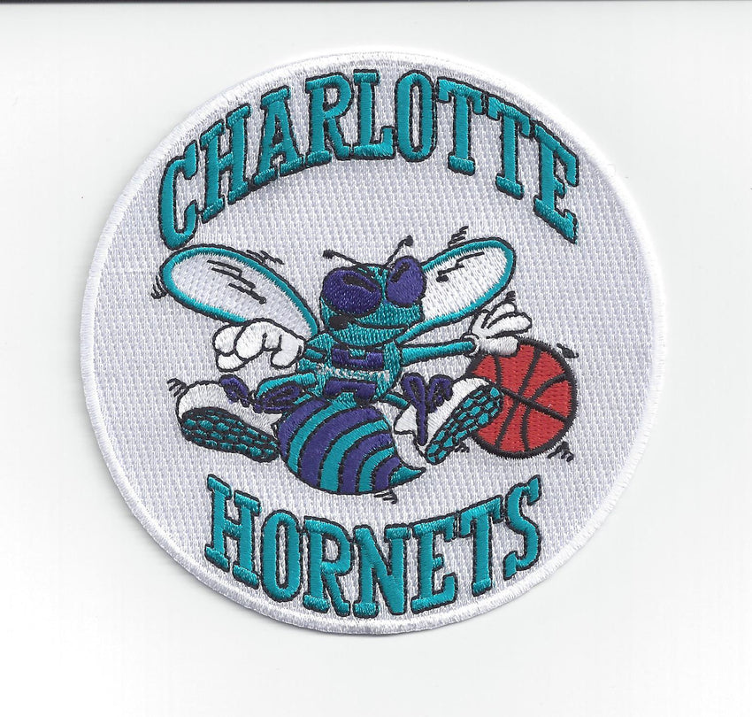 Charlotte Hornets Hardwood Classic Primary Patch