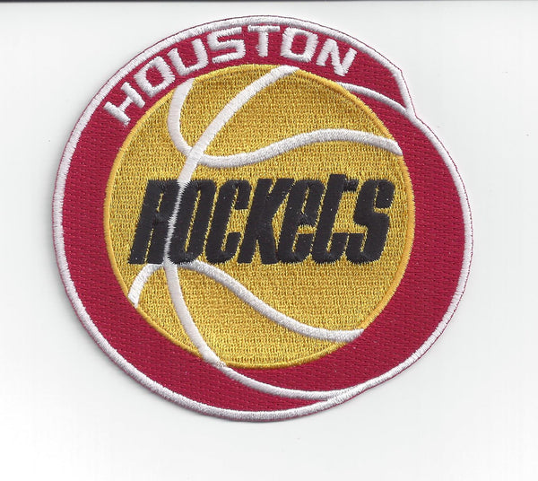 Houston Rockets Hardwood Classic Primary Patch
