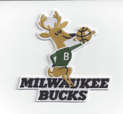 Milwaukee Bucks Hardwood Classic Primary Patch