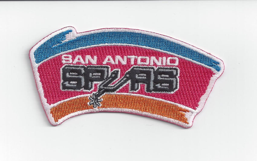 San Antonio Spurs Hardwood Classic Primary Patch