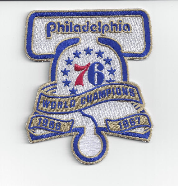 Philadelphia 76ers World Champions Patch (1966-1967)