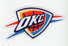 Oklahoma City Thunder Partial Logo Patch