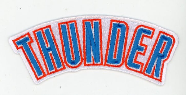 Oklahoma City Thunder Wordmark 1 Logo Patch