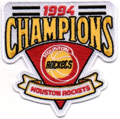 Houston Rockets 1994 Champions Patch