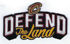 "Cleveland Cavaliers ""Defend the Land"" Patch"